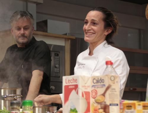Gestionamos la participación de Begoña Rodrigo, ganadora de TopChef, en los Talleres de Cocina de Alimerka