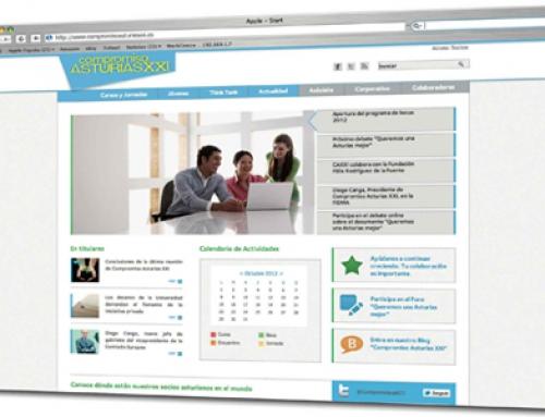Impact5 presenta la nueva web de Compromiso Asturias XXI
