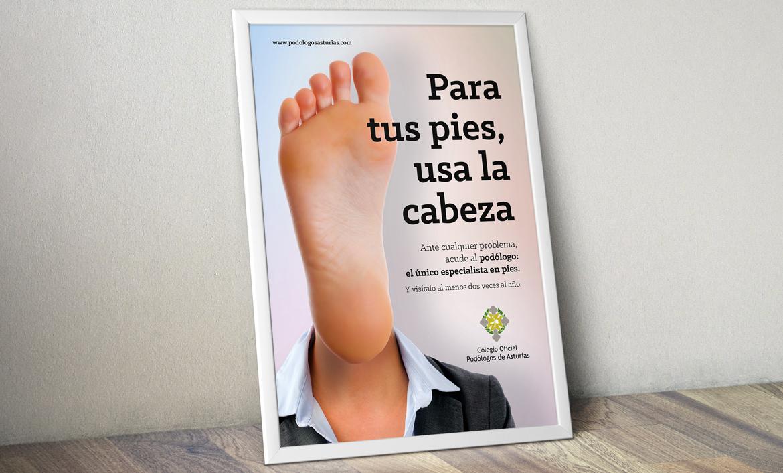 Campaña Colegio de Podólogos de Asturias